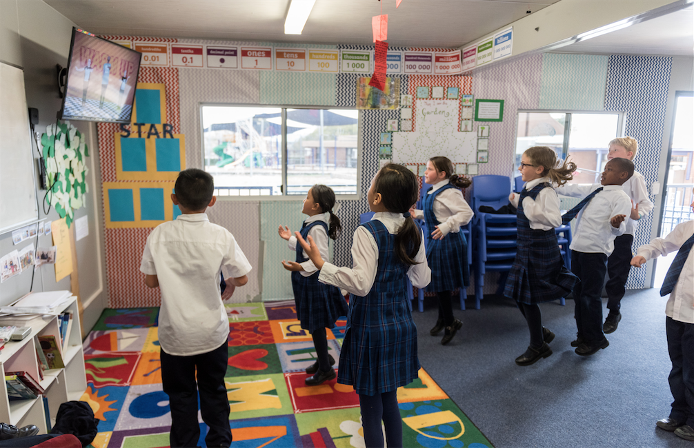 Can movement help in the classroom?