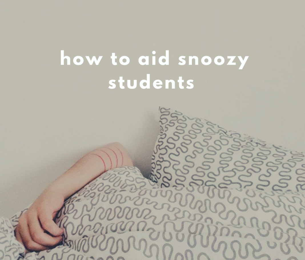 Better sleeping patterns for better learning